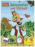 Pettersson & Findus: Jahreszeiten und Uhrzeit: 2 in 1 Band (Pettersson und Findus)