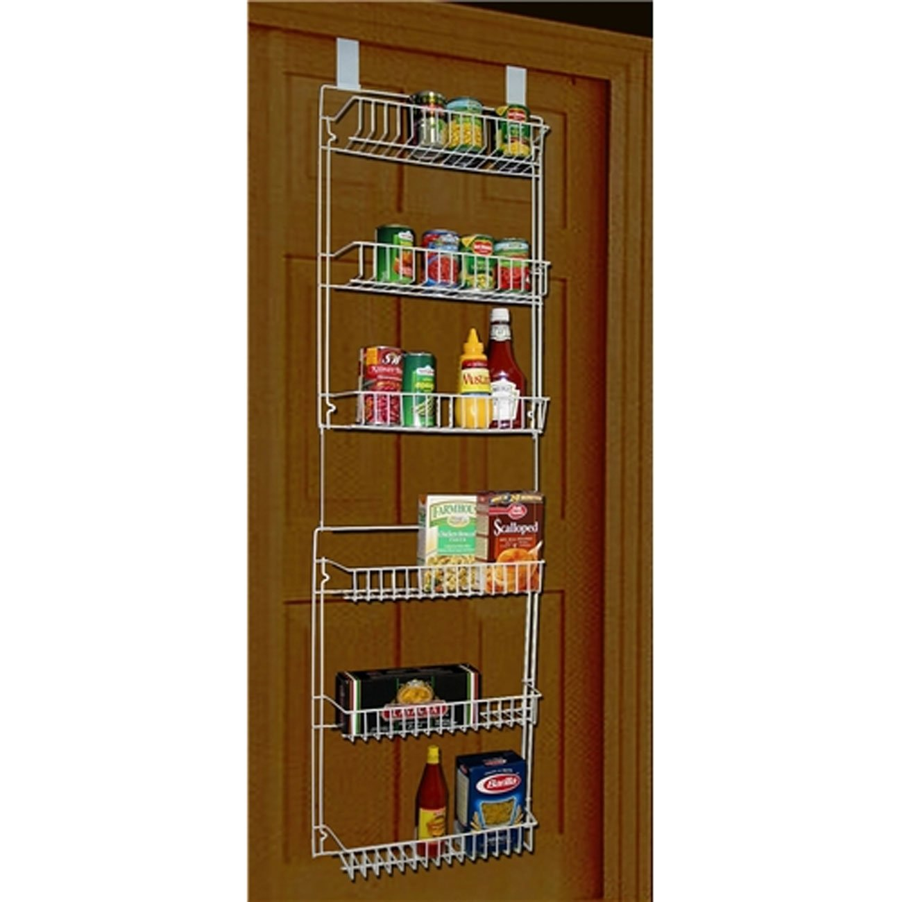 Over the Door Pantry Organizer with Hooks