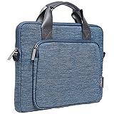 Gearmas 2way 11.6・12Inch パソコンバッグ Macbook Air ケース Macbook 12 ケース macbook ケース ウルトラブック/ネットブック対応 ケース カバー ビジネスバッグ 手提げ ショルダー 撥水加工 ブランド(11.6-12インチ, ブルー)
