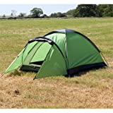 North Gear Camping Mono 2 Man Waterproof Tent Green