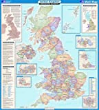 United Kingdom Administrative (OS Wall Map)