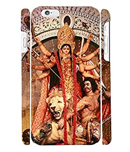 Fuson 3D Printed Lord Durga Designer Back Case Cover for Apple iPhone 6S - D507