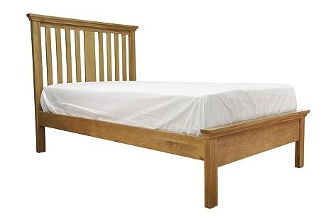 Warwick Oak 3ft Single Sized Bed Frame in Waxed Oak Finish | Wooden Children's Furniture