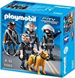 PLAYMOBIL 5565 - SEK-Team mit Polizeihund