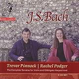 J.S. Bach: Sonatas for Violin and Obbligato Harpsichord vol. 1