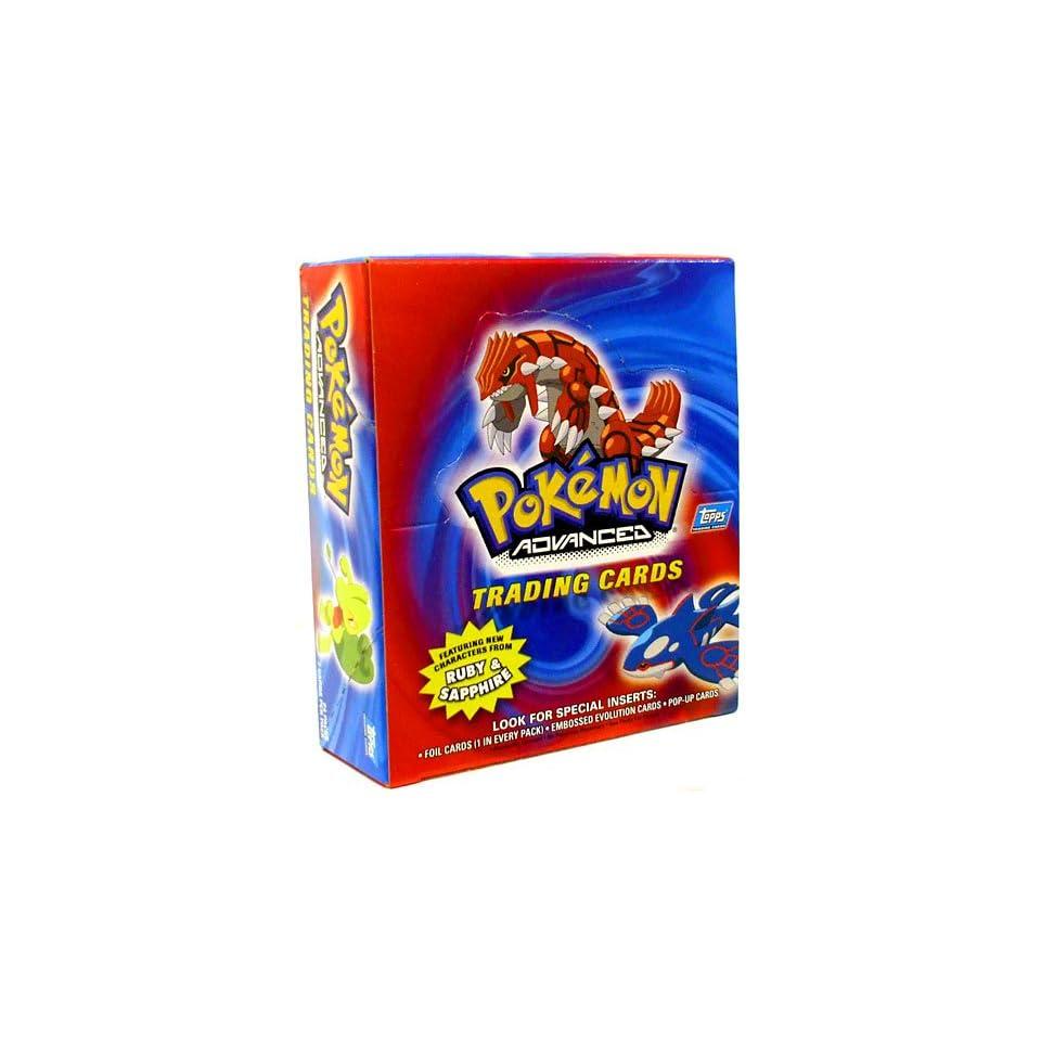 Topps Pokemon Advanced Trading Cards Booster Box 24 Packs