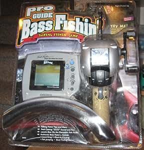 Pro guide bass fishin 39 electronic handheld for Electronic fishing game