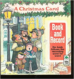 A Christmas Carol (book And Record): Peter Pan Records ...