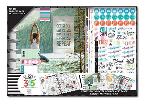 Create 365 Planner Box Kit- Fitness Edition