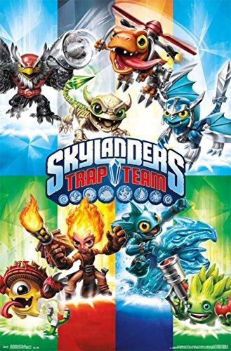 Skylanders Trap Team - Trap Poster 22 x 34in