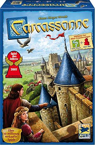 """Carcassonne (neue Edition mit Erweiterung """"Der Fluß"""" und """"Der Abt"""")"""