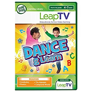 LeapFrog LeapTV Dance and Learn Educational, Active Video Game from LeapFrog