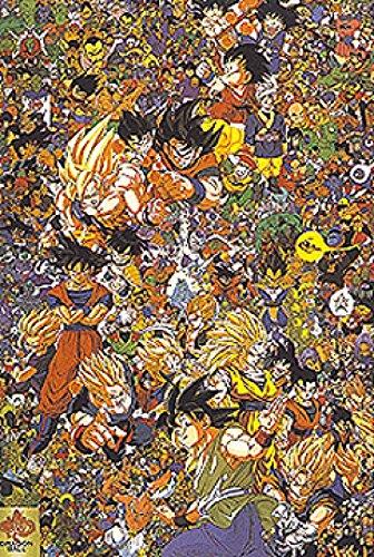 Dragon Ball Z Stampa Artistica Poster (99,06 x 71,12 cm)