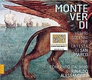 Monteverdi: Vespri solenni per la festa di San Marco [CD plus bonus DVD]