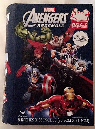 Avengers Assemble Puzzle Storybook (160 Pieces) - 1