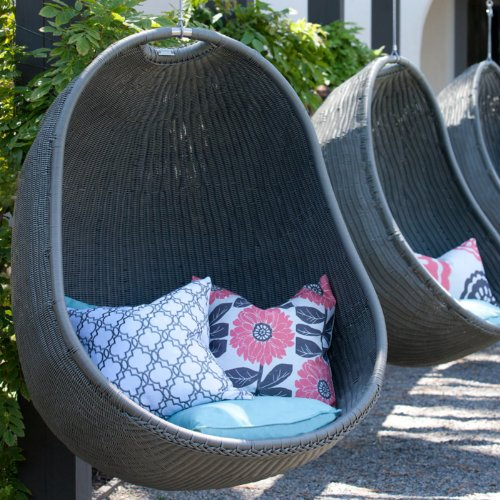 Delicieux Outback Chair Co. Urban Balance Cove Wicker Hanging Chair Color   O..