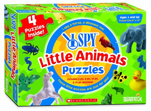 Briarpatch, Spy in Little Animals Puzzle, 8.00 2.00 11.00 - 1