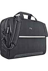 SOLO Classic Collection Laptop Expandable Messenger Bag for 15.6-Inch Notebook Computers