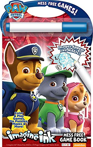 Bendon Paw Patrol Imagine Ink: Mess Free Game Book - 1