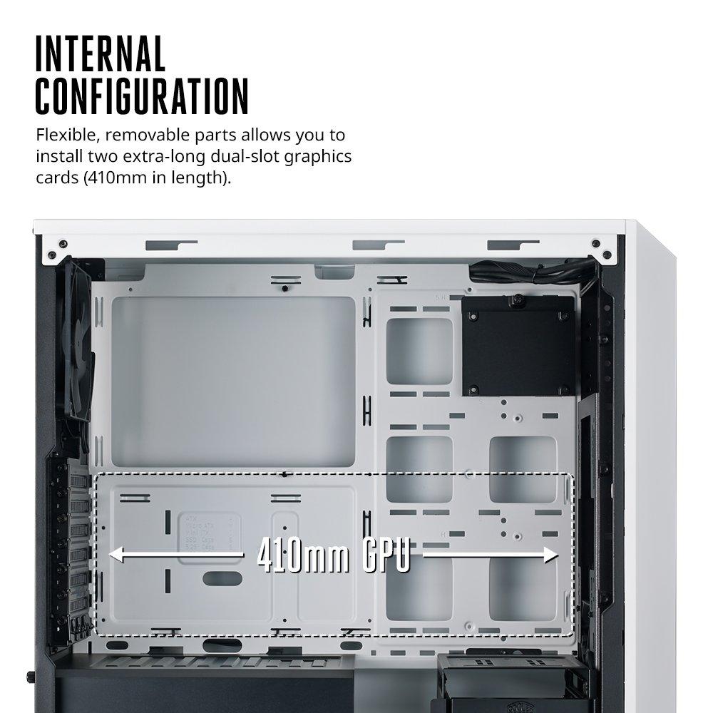 Cooler Master MasterBox 5 Black & White Mid-tower