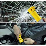 Payeel® 4 in 1 multifunction Car tool safety hammer emergency lamp flashlight For car