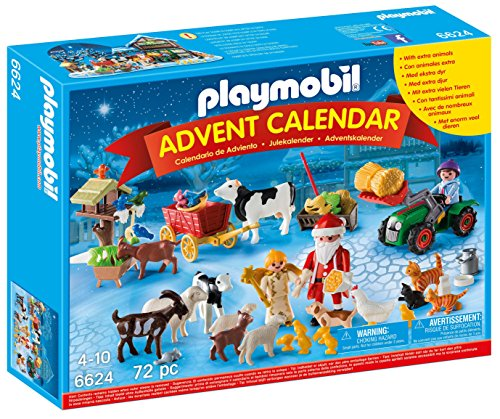 PLAYMOBIL Advent Calendar 'Christmas on the Farm' Playset