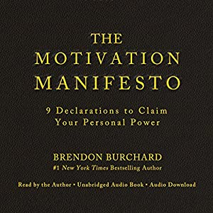 The Motivation Manifesto | Livre audio