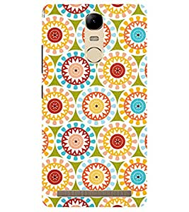 Chiraiyaa Designer Printed Premium Back Cover Case for Lenovo K5 Note (flower pattern colorful) (Multicolor)