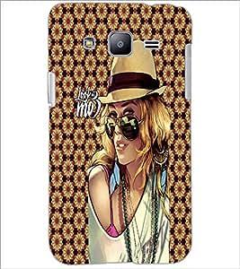 PrintDhaba Fantasy Girl D-6009 Back Case Cover for SAMSUNG GALAXY J2 (Multi-Coloured)
