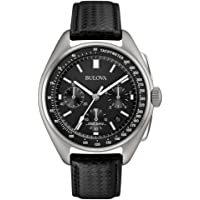 Bulova 96B251 High Frequency Black Dial Mens Chronograph Watch