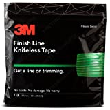 Knifeless Finish Line Vinyl Wrap Cutting Tape 50 Meter Roll (164 Ft) for Stripes and More (Color: Green, Tamaño: 50m / 164ft)
