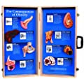 "HEALTH EDCO W43057 The Consequences of Obesity 3D Display, 27"" Length x 28"" Height Opened"