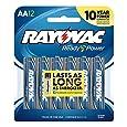 Rayovac Alkaline AA Batteries, 12-Pack