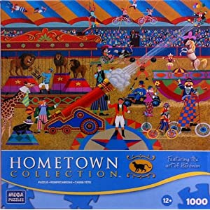 Hometown Collection: At the Circus 1000 Piece Puzzle
