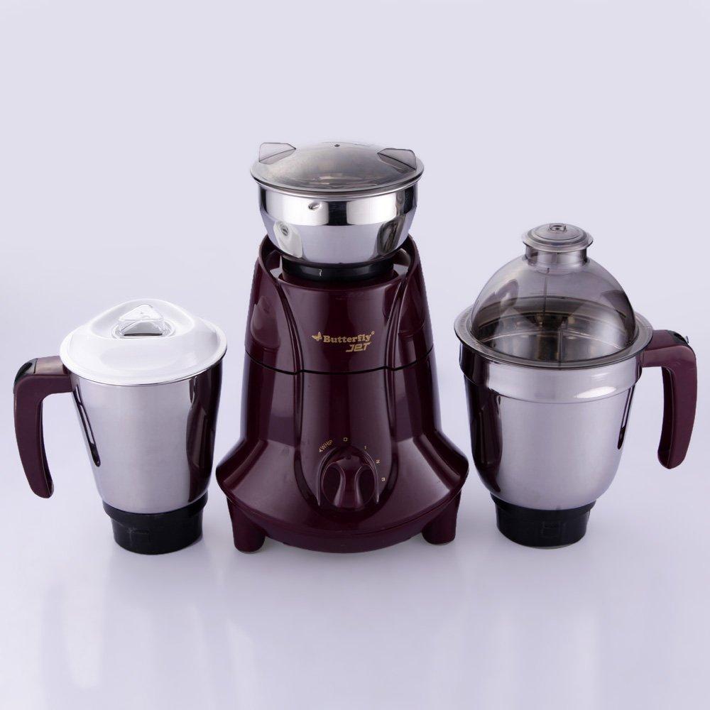 Butterfly Kitchen Appliances Buy Butterfly Jet 750 Watt Mixer Grinder With 3 Jars Cherry