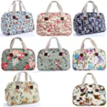 Oilcloth Holiday Travel Weekender Tot...