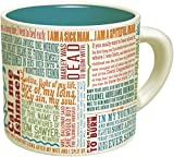 First Lines of Literature Mug - Literary Quotes Coffee Cup - By The Unemployed Philosophers Guild