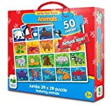 The Learning Journey Jumbo Floor Puzzles - Animals by The Learning Journey International