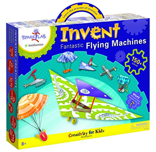 Creativity-For-Kids-SparkLab-Smithsonian-Invent-Fantastic-Flying-Machines-Model-Kit