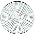 Winco AMS-8, Aluminum Mega Pizza Screen, 8-Inch Inner Diameter and 8.25-Inch Outer Diameter Pizza Crisper, Perforated Pizza Disk