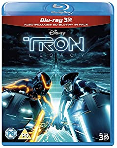 Tron Legacy (Blu-ray 3D + 2D Blu-ray + Digital Copy) [Region Free]