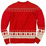 The Big Lebowski The Dude Abides Ugly Christmas Sweater (X-Large)