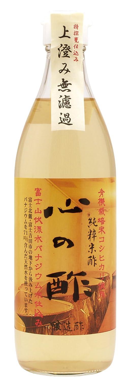 戸塚醸造店 心の酢(純粋米酢) 500ml