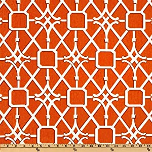 54'' Wide Waverly Network Coral Fabric By The Yard