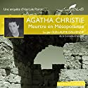 Meurtre en Mésopotamie Audiobook by Agatha Christie Narrated by Guillaume Gallienne