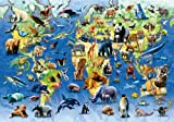 140pc 100 Endangered Species Wooden Jigsaw