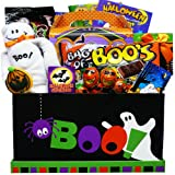 Art of Appreciation Gift Baskets Boo! To You Halloween Candy and Snacks Care Package Box