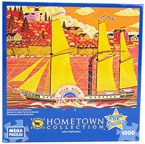 Hometown Collection Ocean Star 1000 Piece Jigsaw Puzzle By Heronim