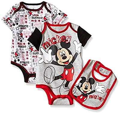 Disney Baby Boys' Mickey Mouse 3 Piece Layette Set by Bentex Children's Apparel that we recomend individually.