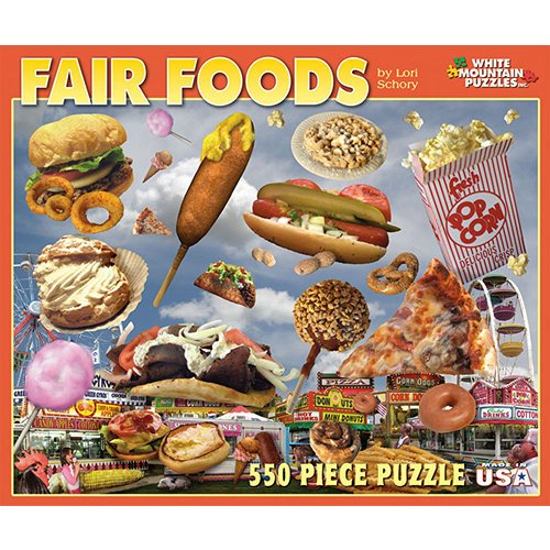 Goto White Mountain Puzzles Fair Food Details